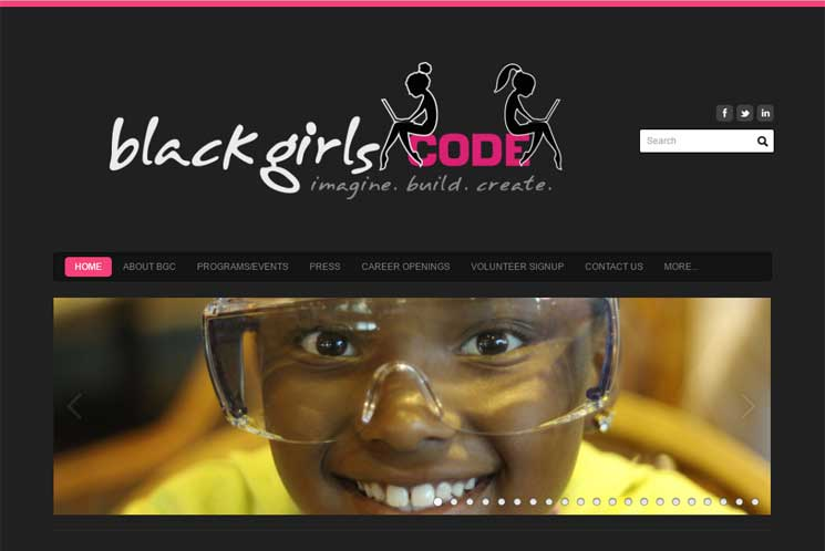 『Black Girls Code』