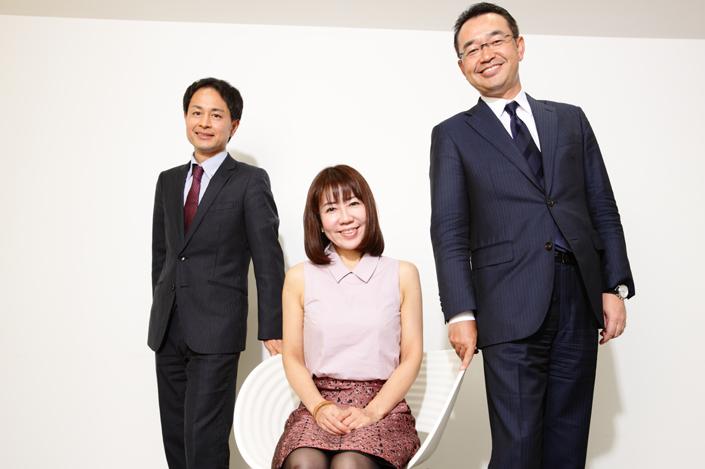 和田裕美さん、川田修氏、菊原智明氏