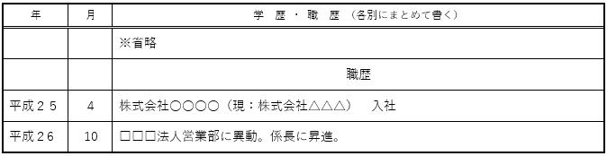 学歴・職歴欄07