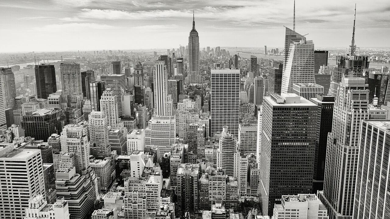 荒廃するニューヨークのなかで