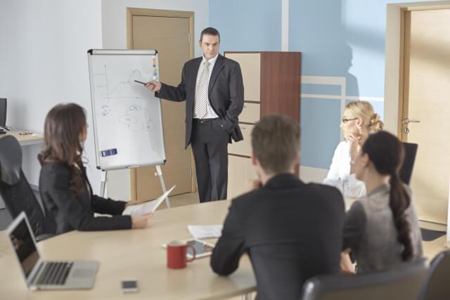 会議の時間は何に費やされているか