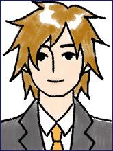 履歴書の写真(男性NG例1)