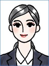 履歴書の写真(女性NG例2)