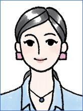 履歴書の写真(女性NG例3)