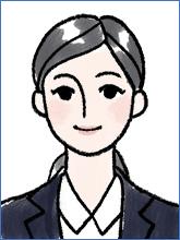 履歴書の写真(女性OK例 ロングヘア)