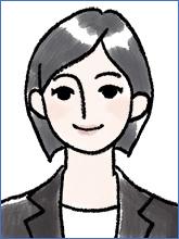 履歴書の写真(女性OK例 ショートヘア)